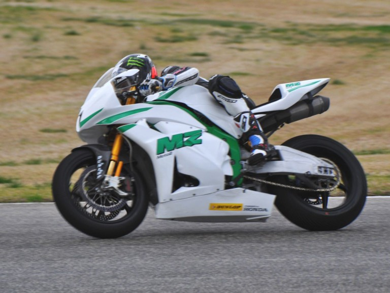 Anthony West in action at Valencia