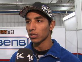 Test Valencia - Moto2 - Yonny Hernandez