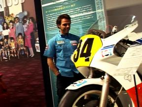 Capirossi and Bautista visit Suzuki HQ