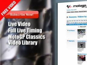 motogp.com launches 2010 VideoPasses