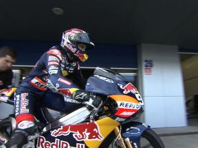 125cc test highlights from Jerez