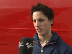 Pol Espargaro on 2010 pre-season progress