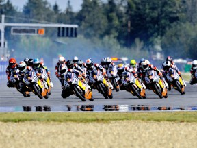 Red Bull Rookies Cup group in action