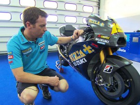 Paul Denning presents the new Suzuki GSV-R
