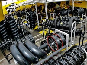 Dunlop workshop area