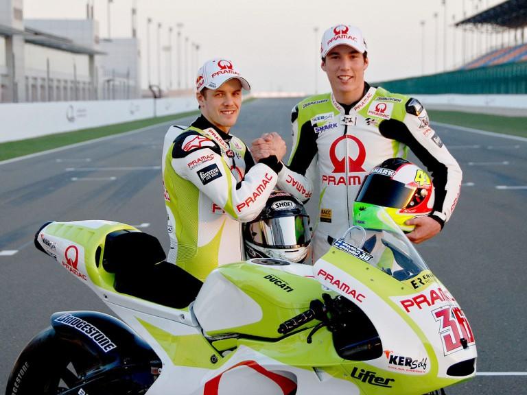 Pramac Ducati unveils new livery in Qatar