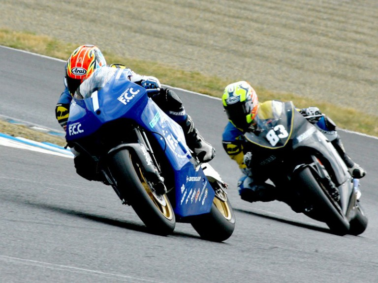 TSR and Moriwaki Moto2 test at Motegi