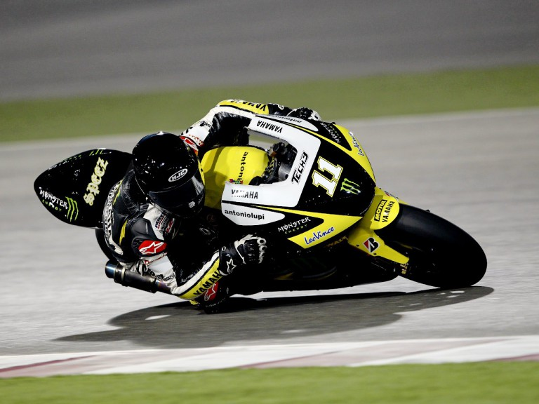 Ben Spies in action at the Qatar test
