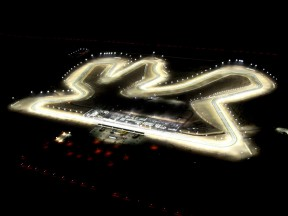 Aerial view of Losail Circuit