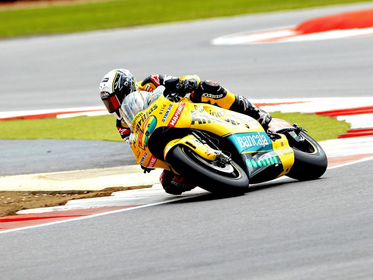 Héctor Barberá in action at Silverstone