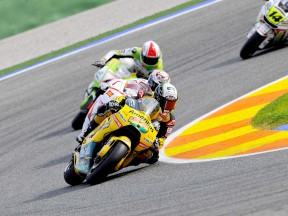Héctor Barberá in action in Valencia