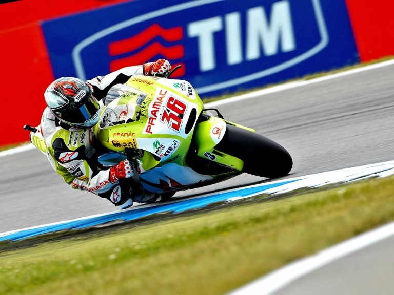 Mika Kallio in action at Assen