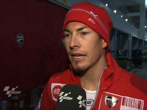 Qatar 2010 - Test day2 - MotoGP - Interview - Hayden