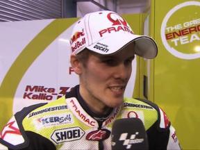 Qatar 2010 - Test day2 - MotoGP - Interview - Kallio