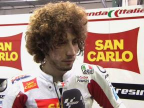 Qatar 2010 - Test day2 - MotoGP - Interview - Simoncelli