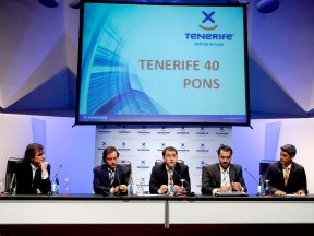 Tenerife 40 Pons team presentation