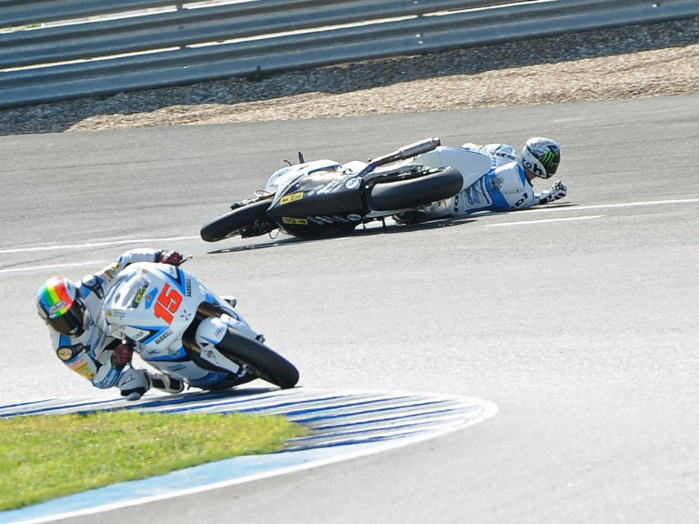 Canepa crashes at the Jerez test