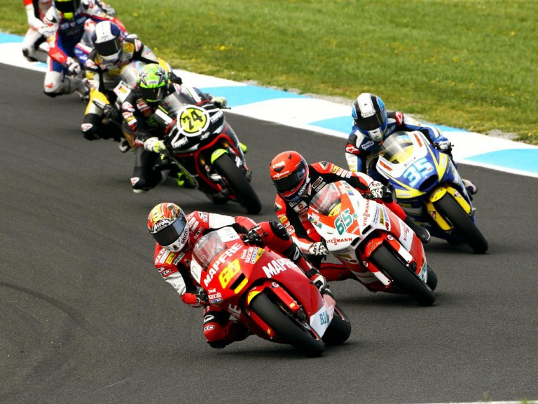 Simon in action at Phillip Island