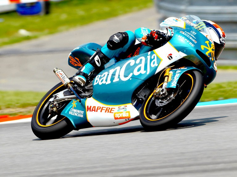 Bradley Smith on track in Brno
