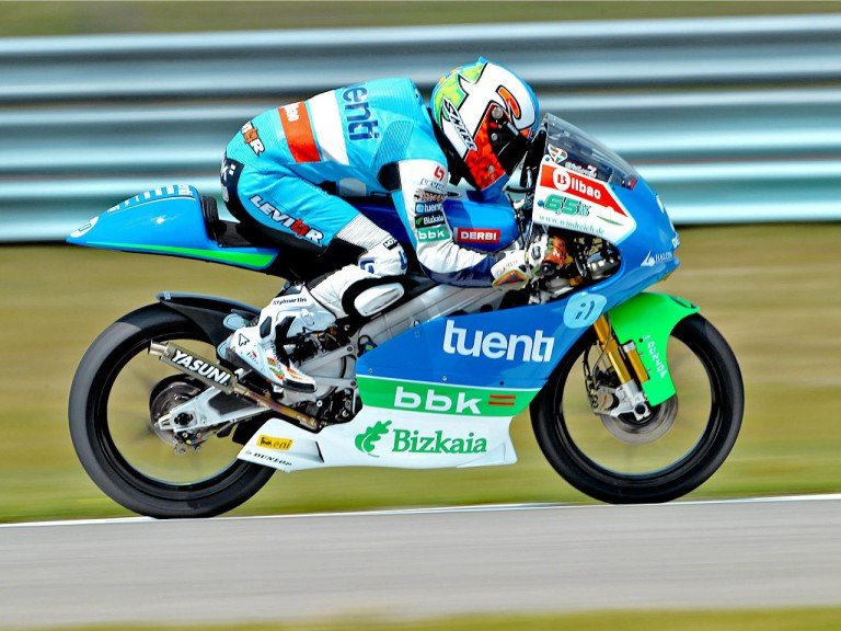 Efren Vazquez in action in Assen