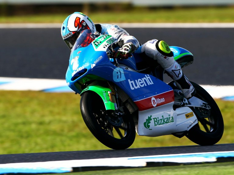 Vazquez in action at Phillip Island