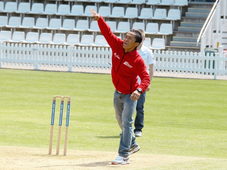 Khairuddin Zulfahmi at Lord´s Cricket Ground