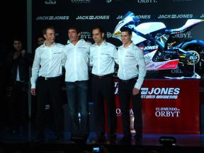 2010 - Moto2 - Feature - Jack & Jones by A.Banderas team presentation