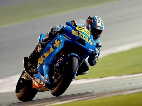 Loris Capirossi at the Qatar test