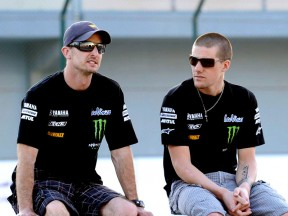 Monster Yamaha Tech 3´s Edwards and Spies