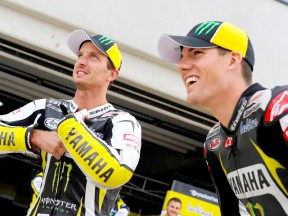 Monster Yamaha Tech 3 riders Edwards and Spies
