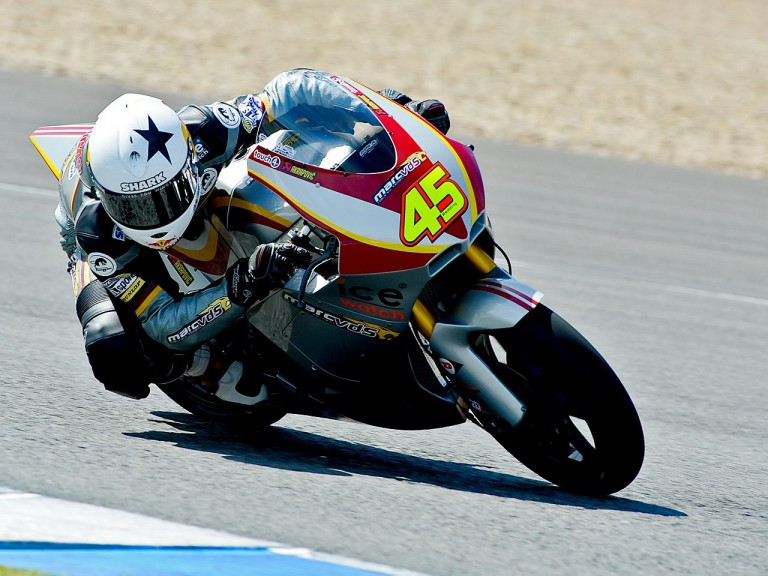 Scott Redding on track at the Jerez test