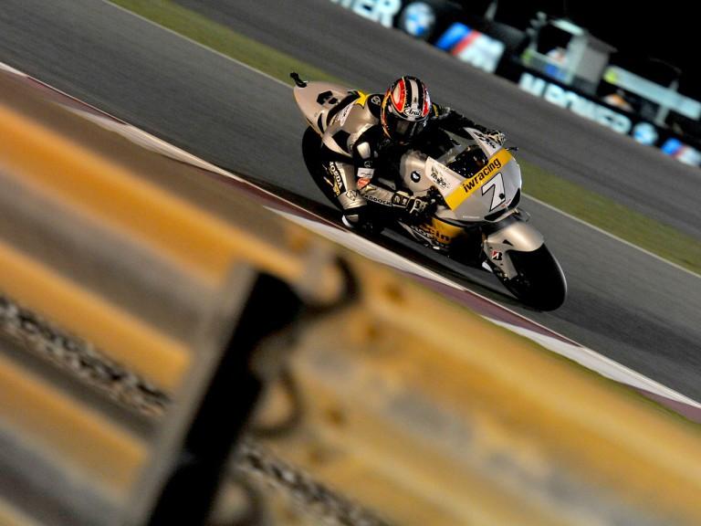 Hiroshi Aoyama on track in Qatar