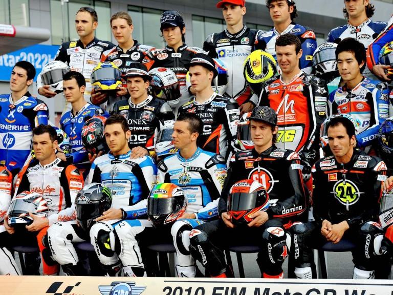 Moto2 Riders at the Losail Circuit