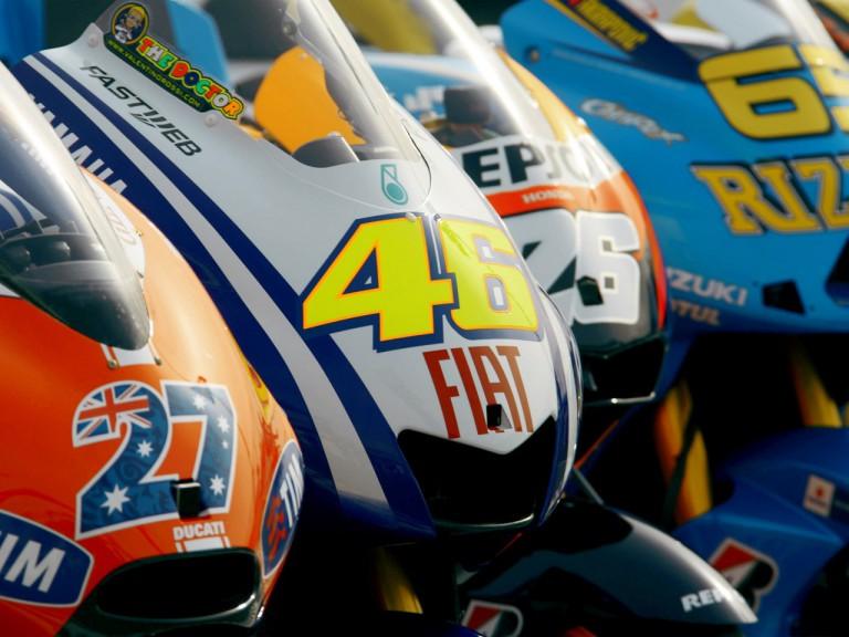 2010 MotoGP World Championship Bikes