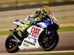 Valentino Rossi in action in Qatar