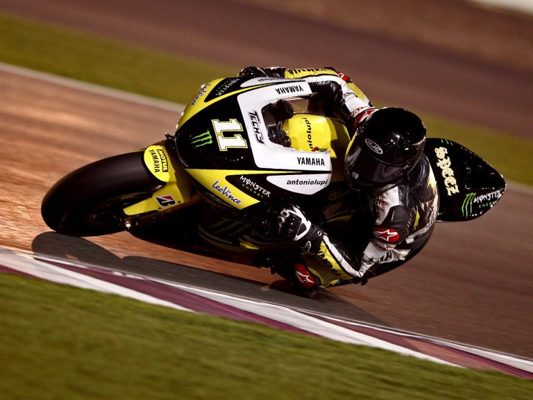 Ben Spies on track in Qatar