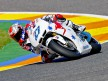 Casey Stoner in action at Valencia test