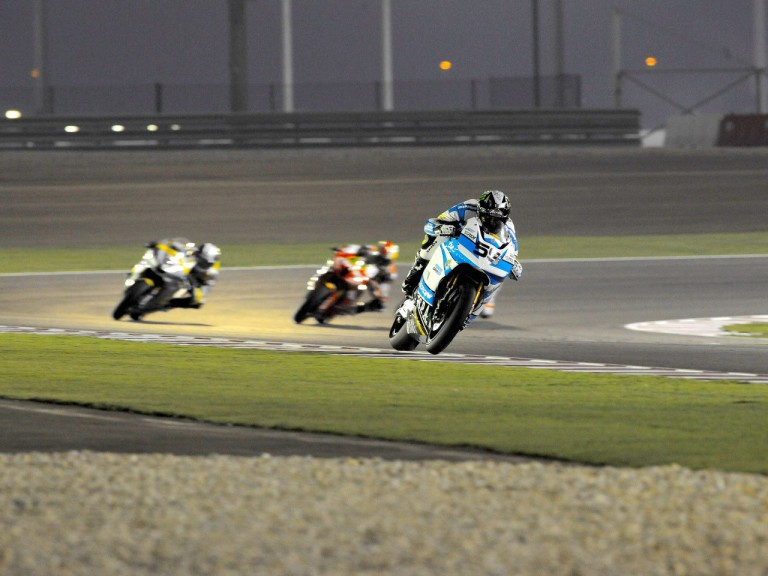 Niccolò Canepa in action in Qatar