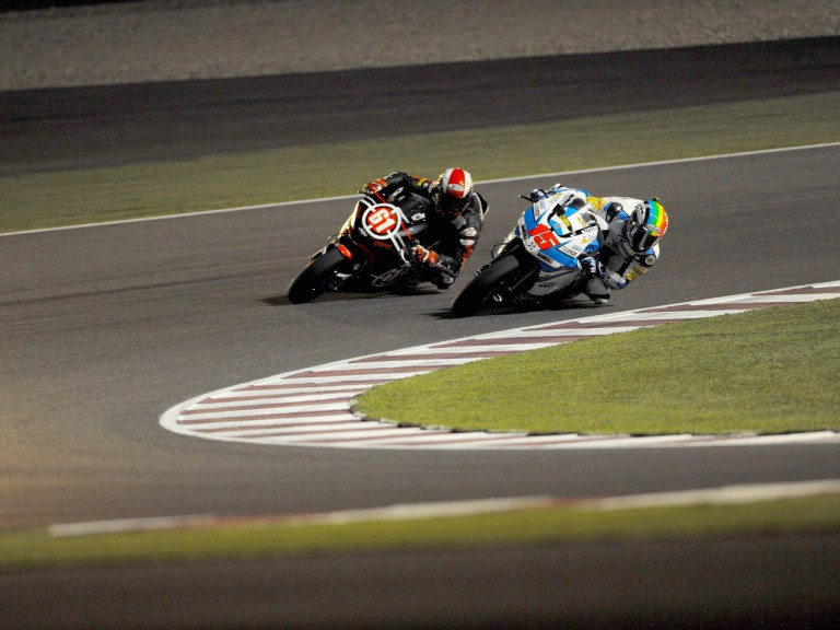 De Angelis and Ivanov in action in Qatar