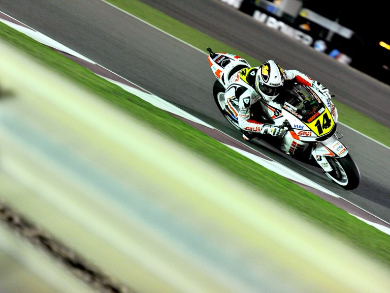 Randy de Puniet in action in Qatar