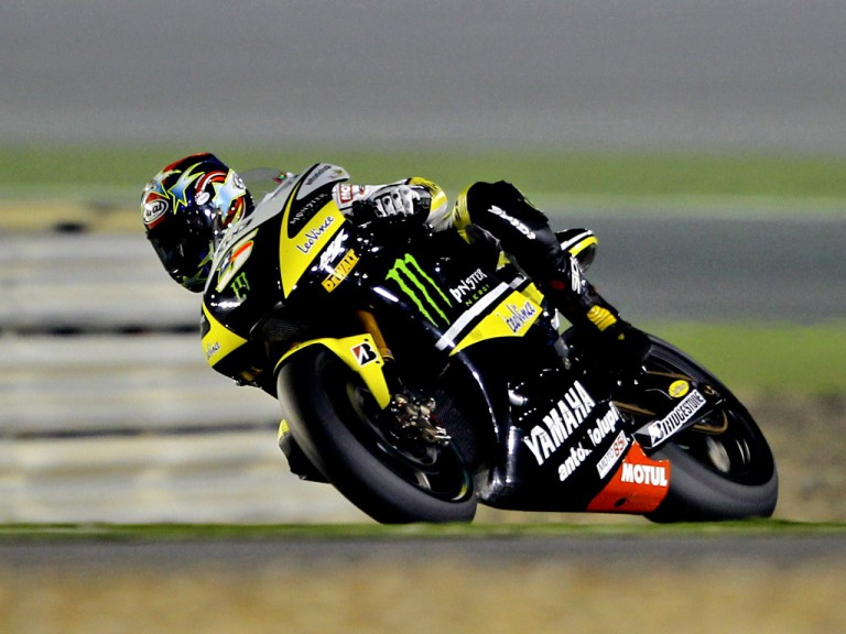 Colin Edwards in action in Qtar