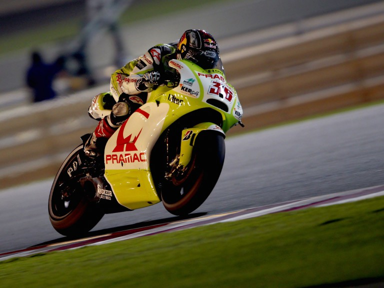 Mika Kallio on track in Qatar
