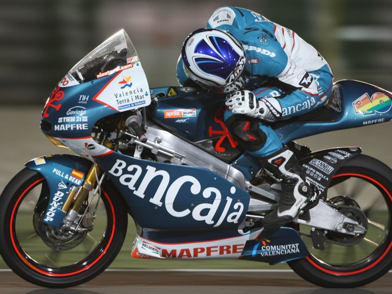 Nico Terol on track in Qatar