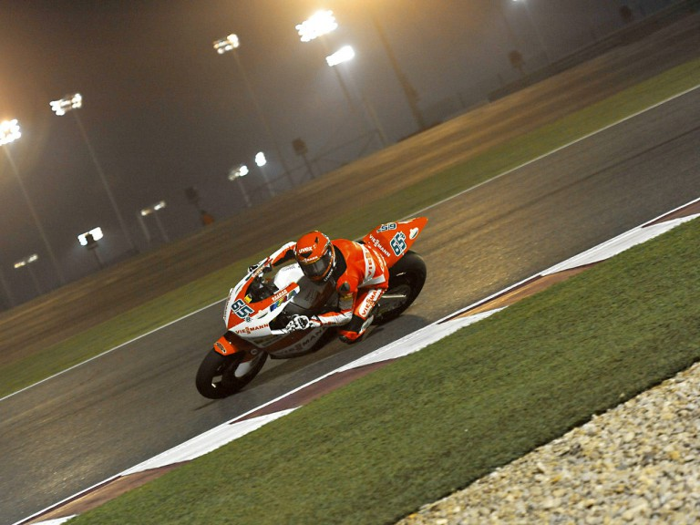 Stefan Bradl in action in Qatar