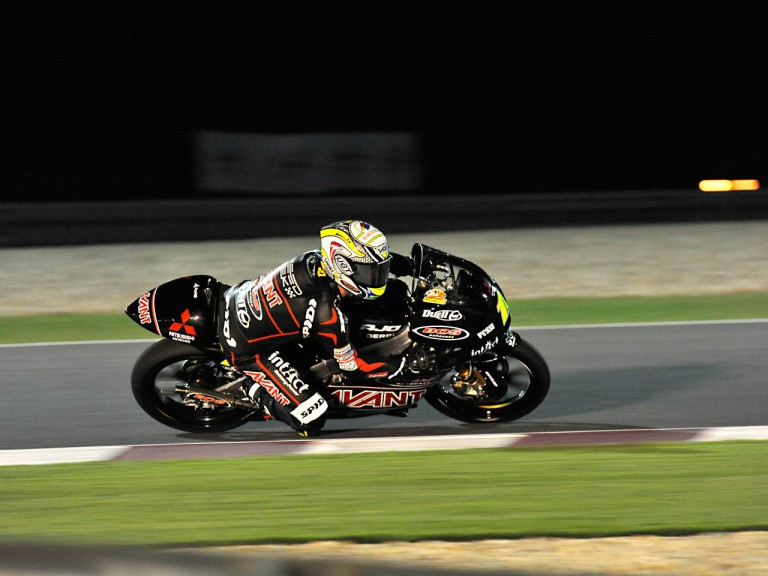 Sandro Cortese in action in Qatar