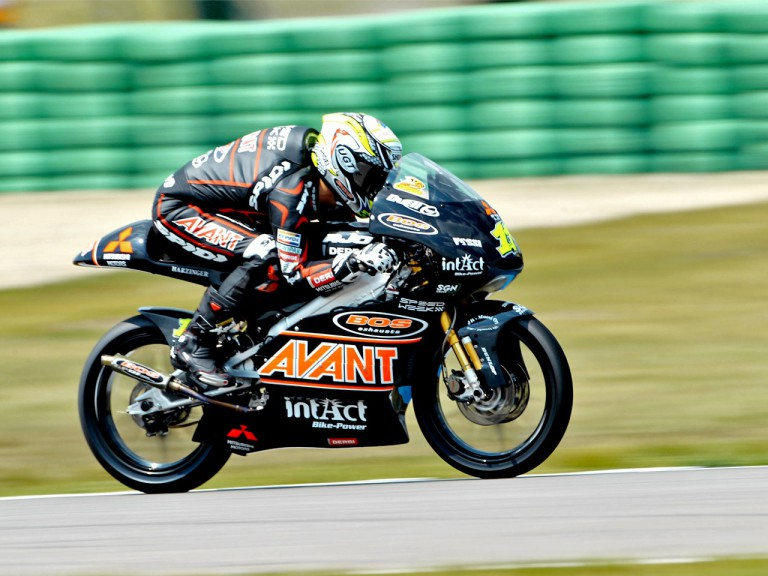 Sandro Cortese on track at Assen