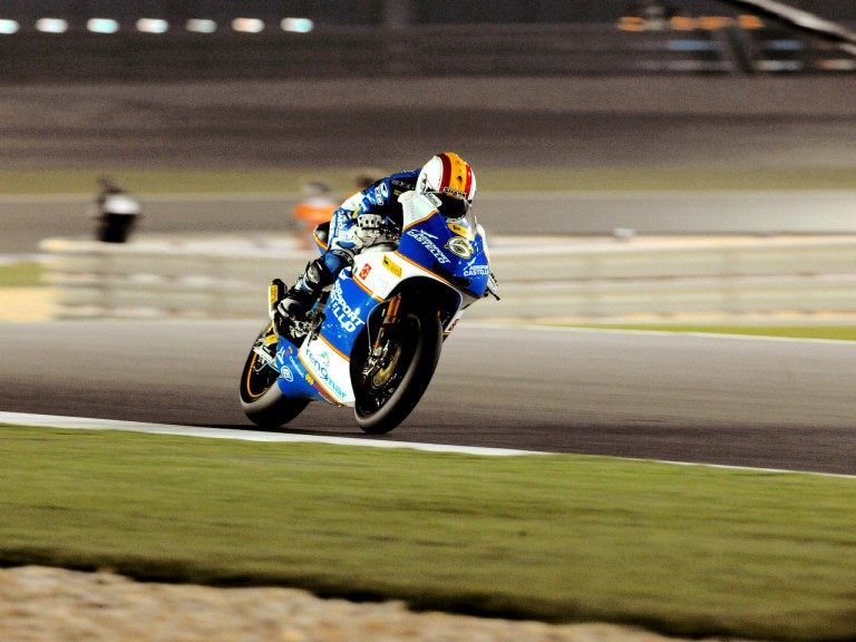 Alex Debon in action in Qatar