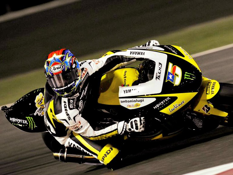 Colin Edwards on track in Qatar