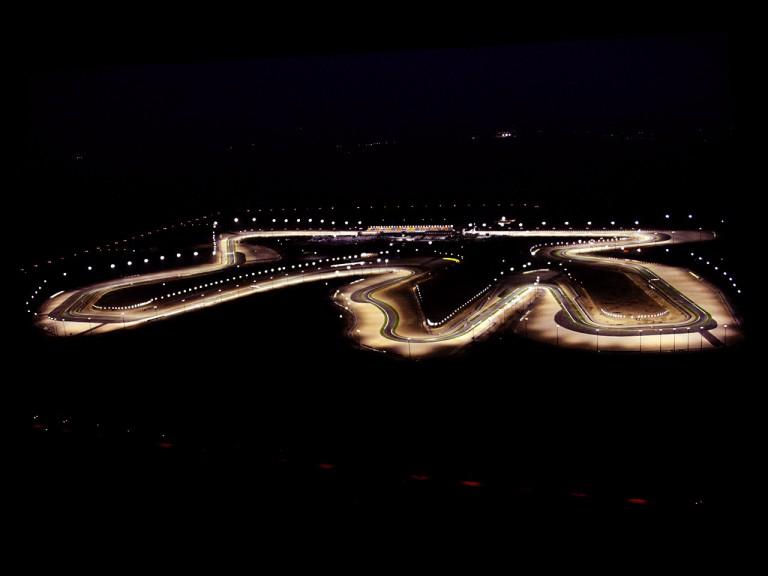 Aerial view of LosailInternacional Circuit