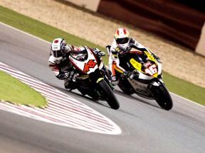 Shoya Tomizawa in action in Qatar